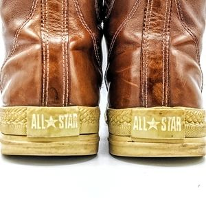 Converse Shoes - Converse Chuck Taylor brown leather sneaker boot